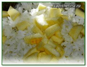 Диета на рисе курице и яблоках