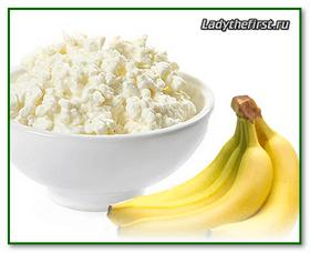 Творожно банановая диета